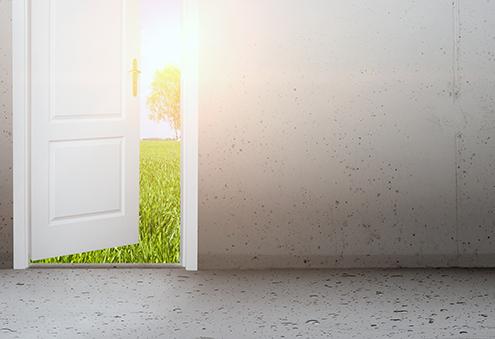 Vrata, ki vodijo v resničnost, ki jo želite