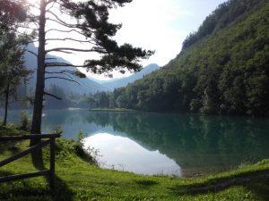 Završnica, lokacija poletne joge v naravi
