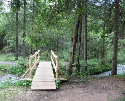 Nov mostiček čez Smeč