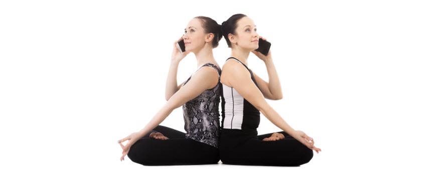 Večina ljudi se udeleži tečajev joge zaradi posledic stresa